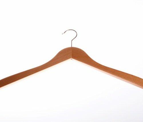 Kleiderbügel, Holz