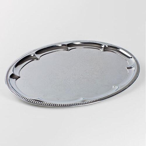 Servierplatte, oval