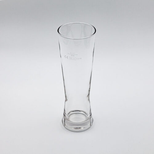 Weizenbierglas 330 ml – gerade