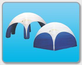 Party-Dome mit Wänden (10 m)